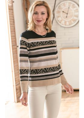 Pull ML encolure ronde - SEDAGYL