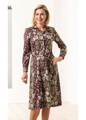 ROBE IMPRIMEE MANCHES LONGUES
