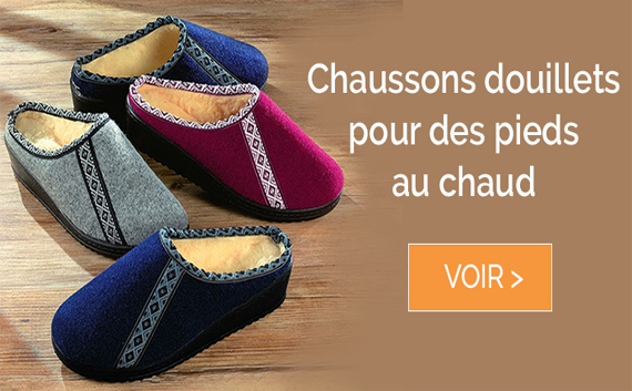 Chaussons chauds